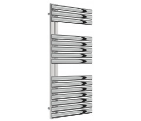 Reina Scalo Polished Stainless Steel Towel Rail 1120mm High x 500mm Wide