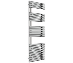 Reina Scalo Polished Stainless Steel Towel Rail 1535mm High x 500mm Wide