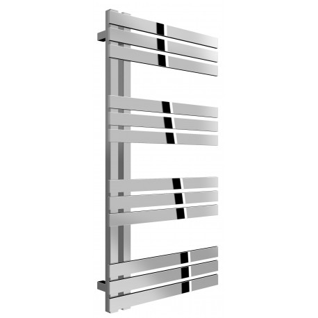 Reina Lovere Polished Stainless Steel Designer Radiator 960mm High x 500mm Wide