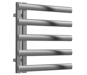 Reina Cavo Brushed Stainless Steel Towel Rail 530mm x 500mm