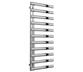 Reina Cavo Polished Stainless Steel Towel Rail 1230mm High x 500mm Wide