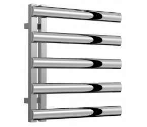Reina Cavo Polished Stainless Steel Towel Rail 530mm x 500mm