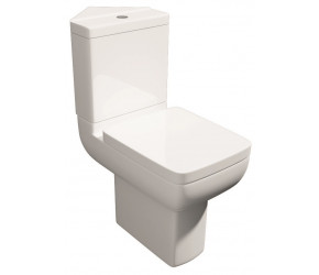 Kartell Options 600 Comfort Height Close Coupled Corner Toilet with Soft Close Seat