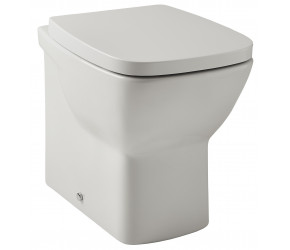 Kartell Evoque Back To Wall Toilet with Soft Close Seat