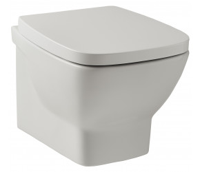 Kartell Evoque Wall Hung Toilet with Soft Close Seat