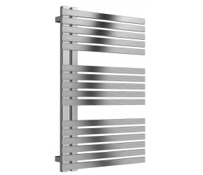 Reina Entice Brushed Stainless Steel Heated Towel Rail 770mm X 500mm