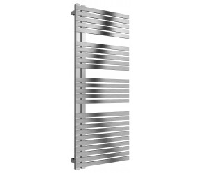 Reina Entice Brushed Stainless Steel Heated Towel Rail 1200mm X 500mm