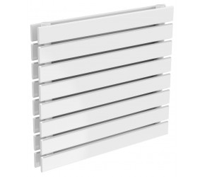 Reina Rione Double Panel Designer Radiator 550mm x 600mm White