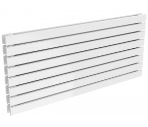 Reina Rione Double Panel Designer Radiator 550mm x 1200mm White