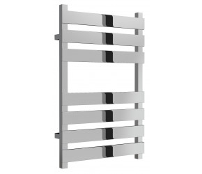Reina Kreon Polished Stainless Steel Heated Towel Rail 780mm x 500mm