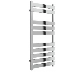Reina Kreon Polished Stainless Steel Heated Towel Rail 1160mm x 500mm