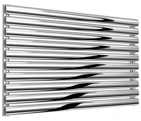 Reina Artena Single Panel Polished Stainless Steel Radiator 590mm x 1000mm