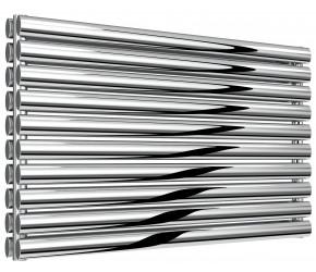 Reina Artena Double Panel Polished Stainless Steel Radiator 590mm x 1000mm