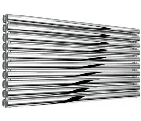 Reina Artena Double Panel Polished Stainless Steel Radiator 590mm x 1200mm