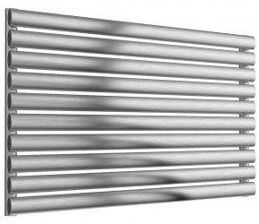 Reina Artena Single Panel Brushed Stainless Steel Radiator 590mm x 1000mm