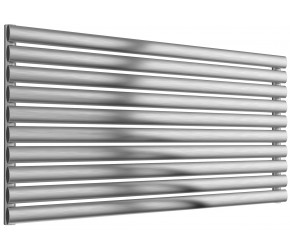 Reina Artena Single Panel Brushed Stainless Steel Radiator 590mm x 1200mm