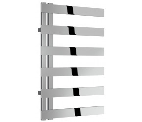 Reina Capelli Polished Stainless Steel Designer Radiator 800mm High x 500mm Wide