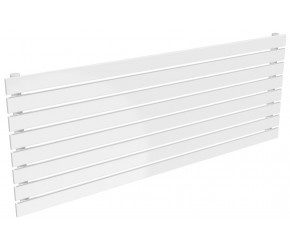 Reina Rione White Single Panel Horizontal Radiator 544mm x 1400mm