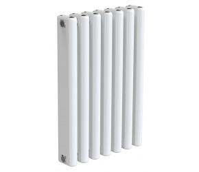 Reina Alco White Aluminium Horizontal Radiator 600mm x 400mm