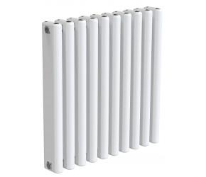 Reina Alco White Aluminium Horizontal Radiator 600mm x 580mm