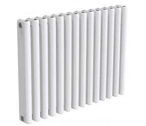 Reina Alco White Aluminium Horizontal Radiator 600mm x 820mm
