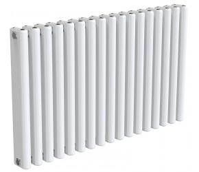 Reina Alco White Aluminium Horizontal Radiator 600mm x 1000mm