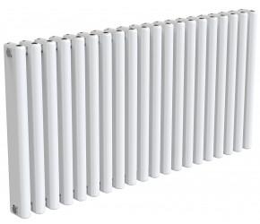 Reina Alco White Aluminium Horizontal Radiator 600mm x 1180mm