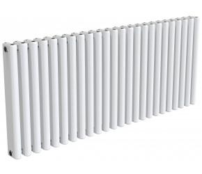 Reina Alco White Aluminium Horizontal Radiator 600mm x 1420mm