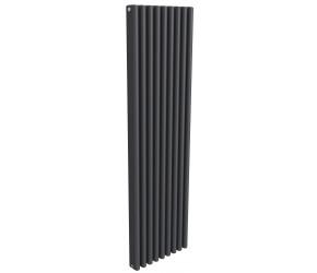 Reina Alco Anthracite Aluminium Vertical Radiator 1800mm x 520mm