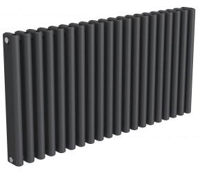 Reina Alco Anthracite Aluminium Horizontal Radiator 600mm x 1180mm