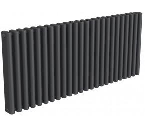 Reina Alco Anthracite Aluminium Horizontal Radiator 600mm x 1420mm