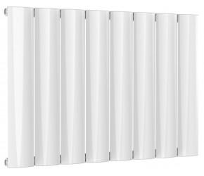 Reina Belva White Aluminium Single Panel Horizontal Radiator 600mm x 828mm