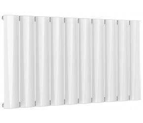Reina Belva White Aluminium Single Panel Horizontal Radiator 600mm x 1036mm