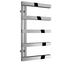 Reina Piazza Polished Stainless Steel Designer Towel Rail 870mm x 500mm