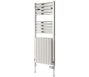 Reina Burton Aluminium Designer Heated Towel Radiator 1180mm x 485mm
