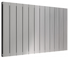Reina Polito Polished Aluminium Horizontal Radiator 600mm x 1004mm