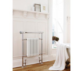 Edit: Kartell Crown Traditional Designer Towel Rail 500mm Wide x 945mm High