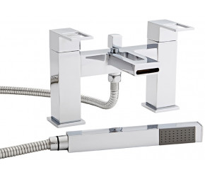 Kartell Kourt Chrome Bath Shower Mixer Tap