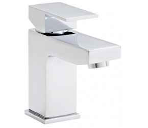Kartell Element Chrome Mono Basin Mixer Tap With Clicker Waste