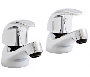 Kartell Koral Chrome Basin Taps