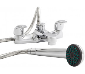 Kartell Koral Chrome Bath Shower Mixer Tap