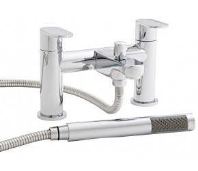Kartell Logik Chrome Bath Shower Mixer Tap