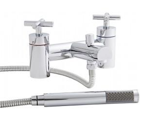 Kartell Times Chrome Bath Shower Mixer Tap