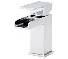 Kartell Phase Chrome Mono Basin Mixer Tap With Clicker Waste