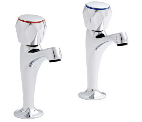 Kartell Alpha Chrome HN Kitchen Sink Taps