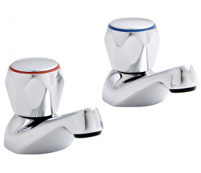 Kartell Alpha Chrome Bath Taps