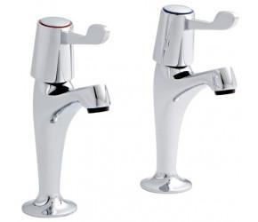 Kartell Lever Chrome HN Kitchen Sink Taps