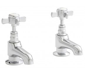 Kartell Klassique Chrome Basin Taps
