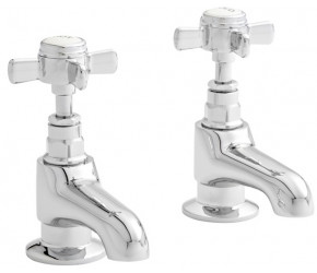 Kartell Klassique Chrome Bath Taps