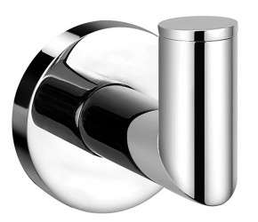 Iona Glisten Chrome Robe Hook